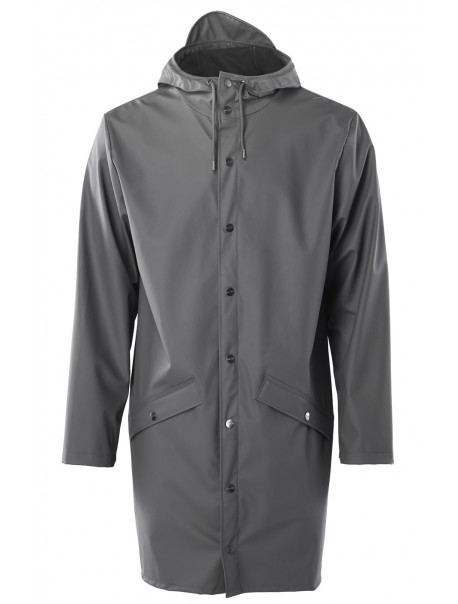 Long Jacket Charcoal Rains