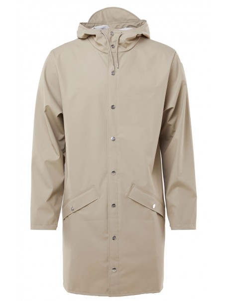 Long Jacket Beige Rains
