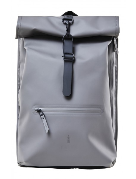 Roll Top Rucksack Charcoal Rains