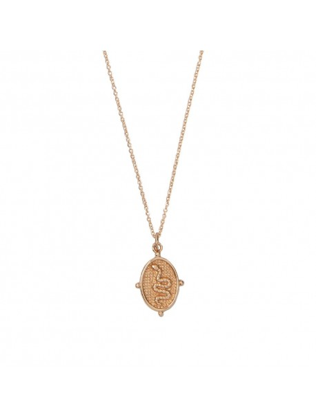 Collier pendentif charms Serpent