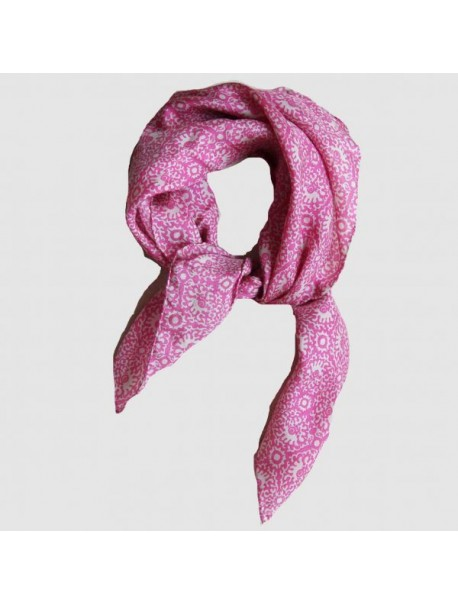 Foulard Mini Source Rose
