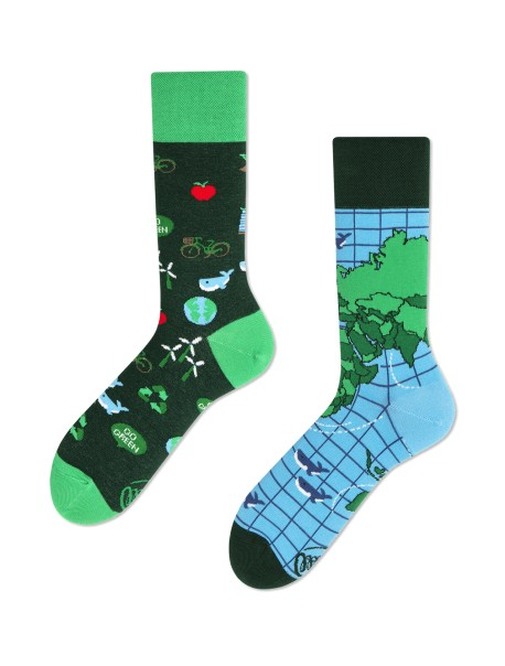 Chaussettes Save The Planet