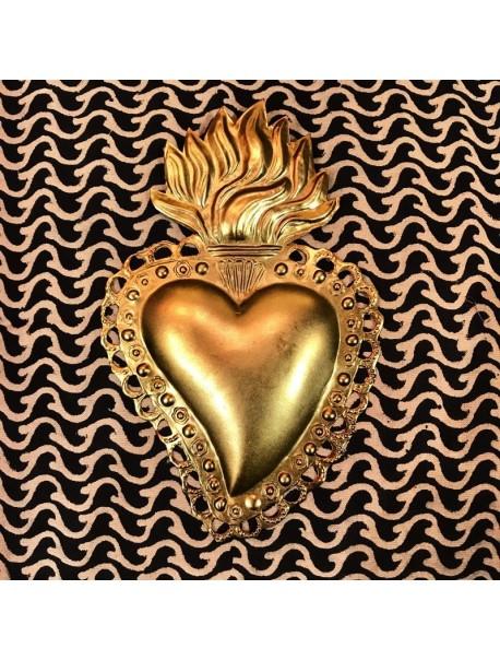 Ex-Voto Coeur Eligia Gold