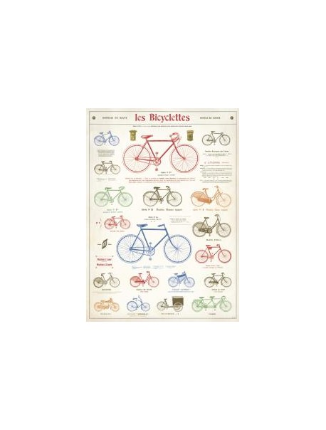 Affiche Bicyclettes
