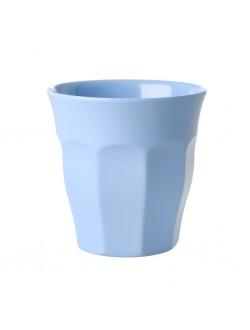 Gobelet melamine - Bleu Layette - moyen