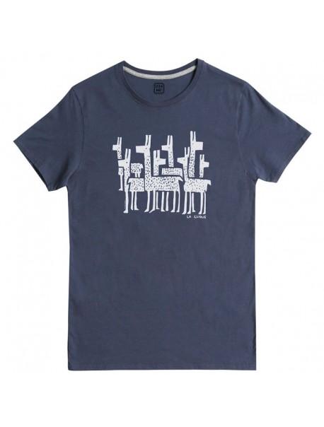 "Tee shirt ""La clique""  Dark Blue"