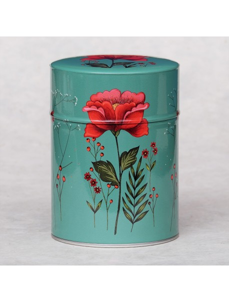 Boîte Luxe Fleur Rouge