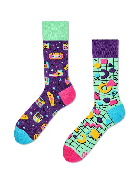 Chaussettes Back To The 90's