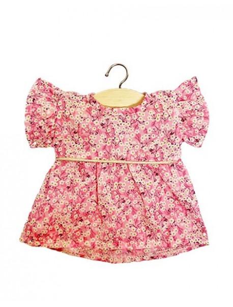 Robe Daisy en coton Liberty Mitsi rose