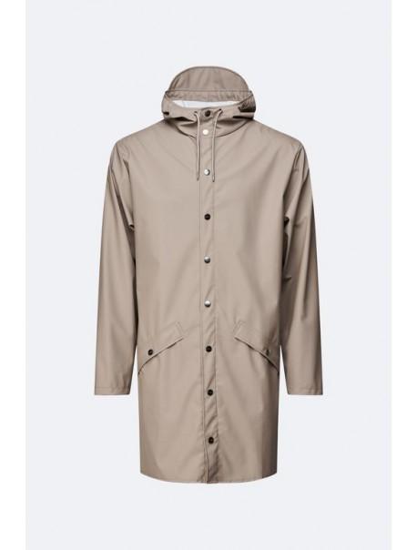 Long Jacket Taupe Rains