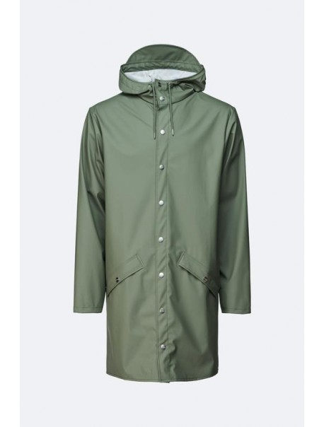 Long Jacket Olive Rains