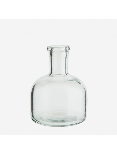 Petit Vase en Verre Clair