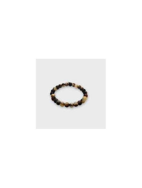 Bracelet en Corne Foncé - Carl