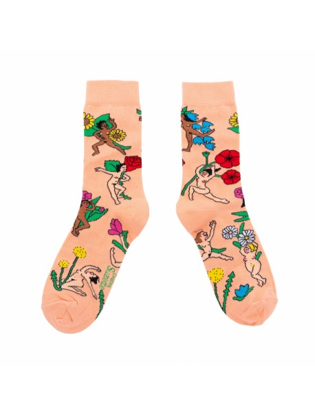 Chaussettes Flower Party