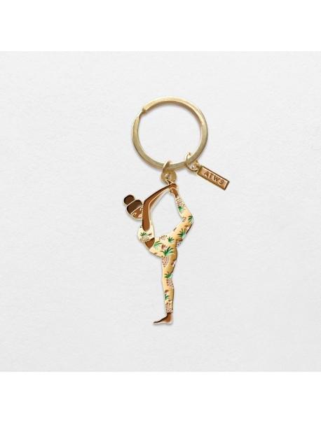 Porte clef Yoga