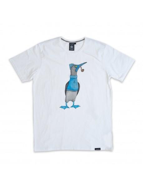 "Tee Shirt ""Booby Bird"" Blanc"