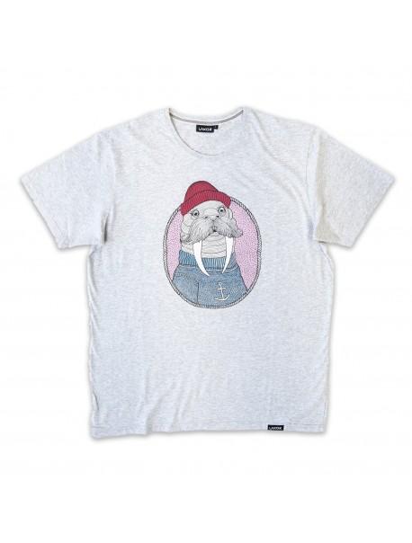 Tee Shirt - Morse - Gris