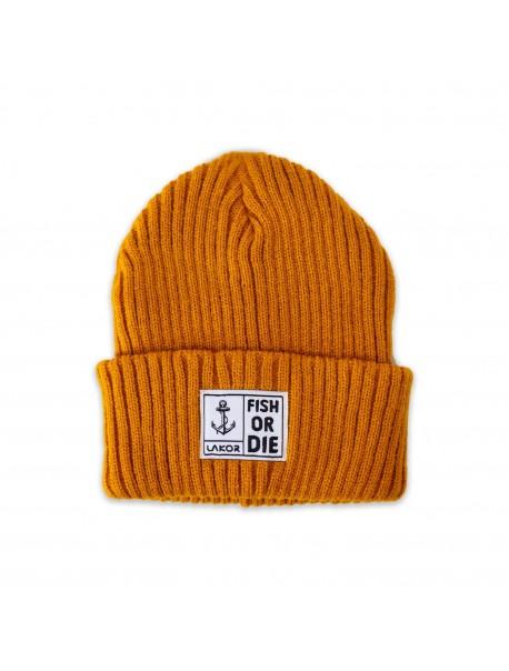 "Bonnet ""Fish or Die"" Orange"